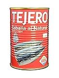 Tejero - Conserva de Pescado | Caballa al Vapor - 6 Latas x 400 g