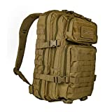 Pack de asalto MOLLE táctico con mochila de patrulla 36L, Coyote