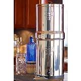 Royal berkey 3,25Gal. Filtro De Agua De Acero Inoxidable con 2filtros de cerámica RB4X 2-cf