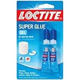 Loctite Super Glue Gel, Two 2-Gram Tubes (1399965)