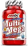 AMIX - Complejo Vitamínico - Multi Mega Stack con Vitaminas y Minerales - 120 Tabletas - Mejora el Rendimiento Físico y Mental - Suplemento con Hierro - Eficaces Suplementos Vitamínicos