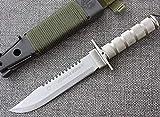 FARDEER Knife Cuchillo de Caza de Supervivencia al Aire Libre para Acampar de Supervivencia