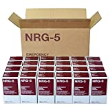 NRG-5 alimentos de emergencia - 1 caja de 24 paquetes de 500 g