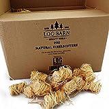 Natural ECO madera encendedores de fuego-200 de lana de madera llama fuego arrancadores por caja. Ideal para encender incendios en estufas