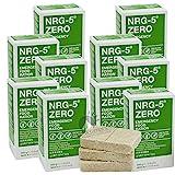 10 x NRG-5 Zero sin gluten, 500 g de emergencia, 10 x 9 barritas de supervivencia, equipo básico como EPA