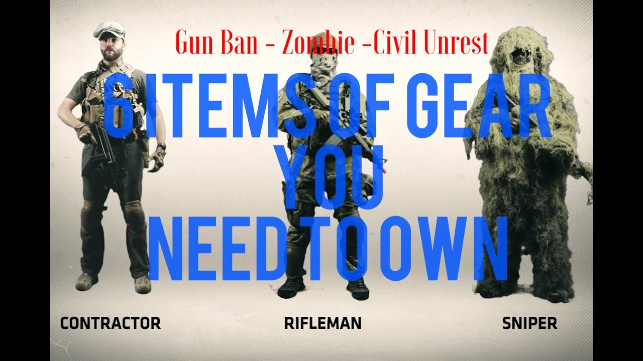 6 armas para comprar antes de una prohibición de armas o disturbios civiles 4