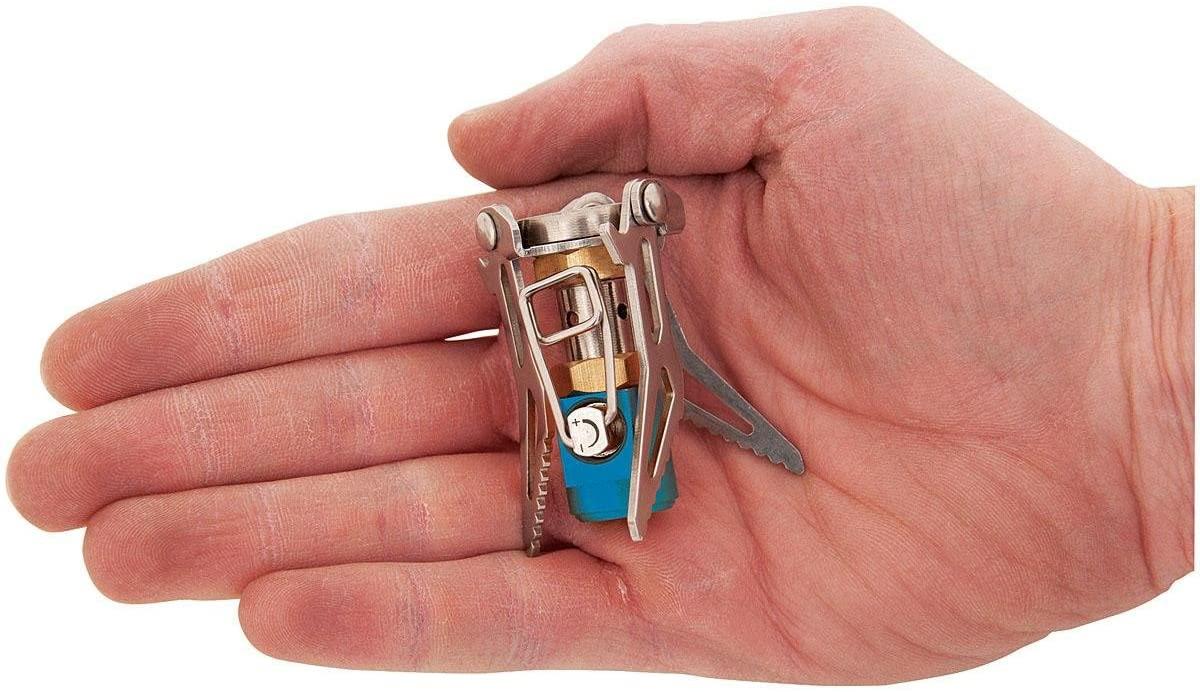 Olicamp Ion Micro Titanium: La estufa más pequeña del mundo