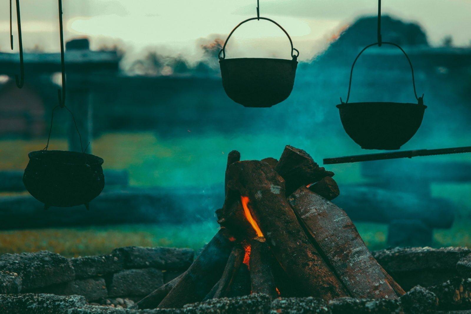 Comidas fáciles de cocinar a fuego después de un desastre