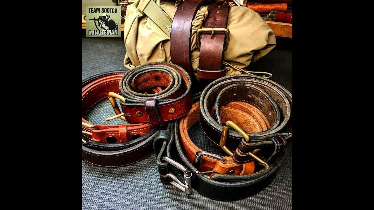 25 usos de los cinturones de cuero para supervivencia 1