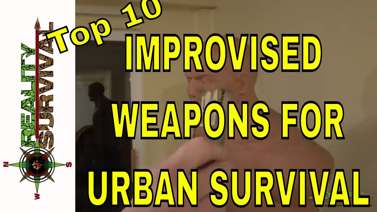 10 armas improvisadas para la supervivencia urbana 1